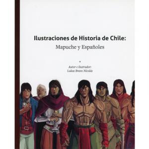 Ilustraciones de Historia de Chile: Mapuche y Españoles