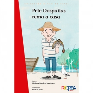 Pete Dospailas rema a casa