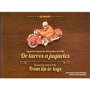 De tarros a juguetes. Juguetes alemanes fabricados en Chile