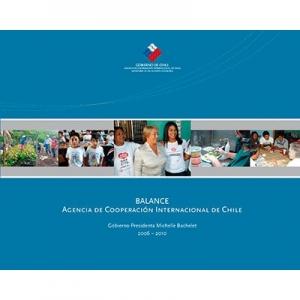 Balance Agencia de Cooperación Internacional de Chile